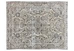 "Distressed Tabriz Carpet, 10'1"" x 12'10"""