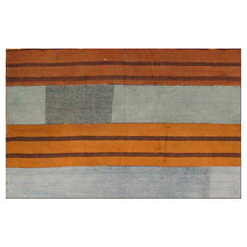 "Turkish Kilim, 4'1"" x 6'5"""