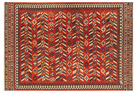 Turkish Kilim,  7' x 10'1