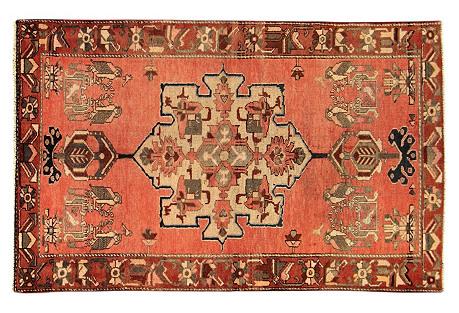 Persian Rug, 4'4