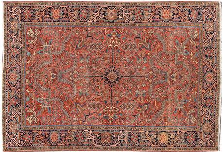 Persian Heriz Rug, 7'8