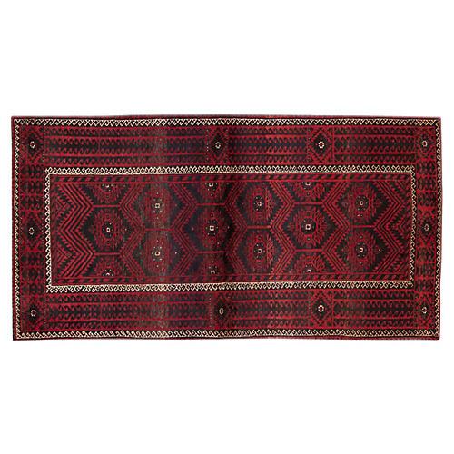 "Vintage Persian Rug, 3'6"" x 6'8"""