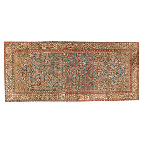 "Antique Persian, 5'3"" x 11'8"""