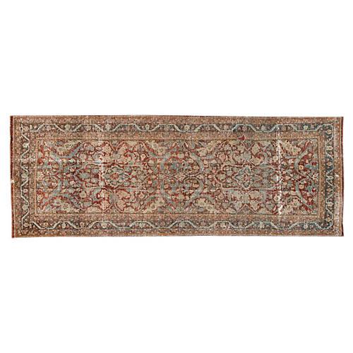 "Antique Persian Hamadan, 3'6"" x 9'10"""