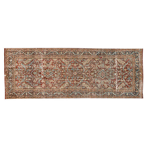 "Antique Persian Hamadan, 3'6"" x 9'10"""