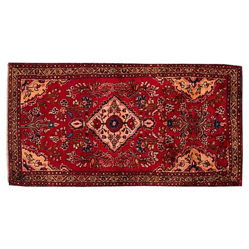 """Persian Rug, 3'5"""" x 6'8"""""""
