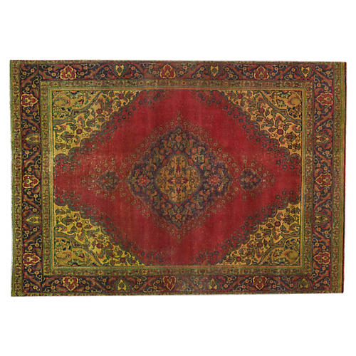 "Antique Tabriz, 8'2"" x 11'4"""