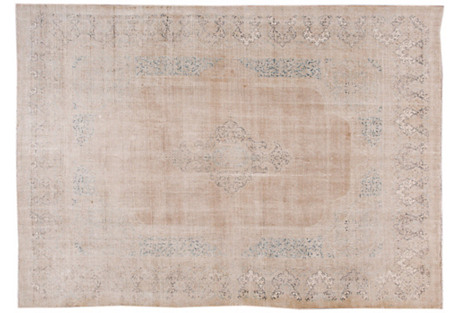 Persian Tabriz Carpet, 9'8