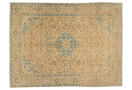 Tabriz Carpet, 10' x 13'4