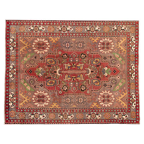 "Antique Persian Shiraz Rug, 7'10""x10'3"""