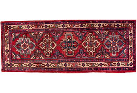 Persian Hamadan Rug, 3'6