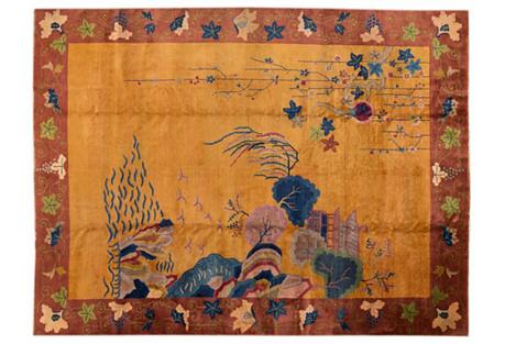 Chinese Art Deco Rug, 8'10