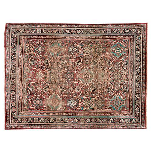 """Persian Mahal Rug, 8'9"""" x 12'4"""""""