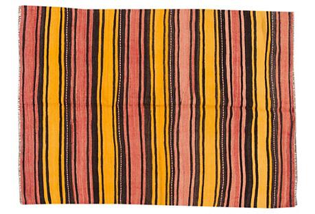 Striped Kilim, 5'2