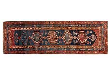 Antique Persian Heriz, 3'2