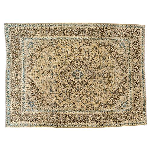 "Persian Tabriz Carpet, 9'4"" x 12'3"""