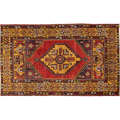 "Anatolian Rug, 3'8"" x 5'10"""