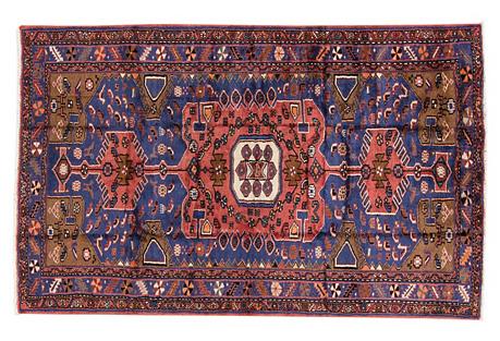 Persian Hamadan, 4' x 6'8