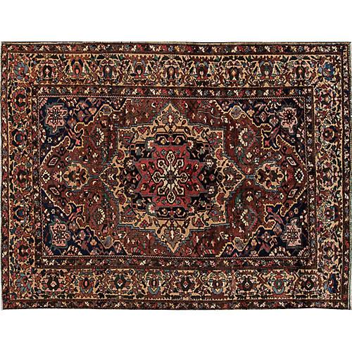 """Persian Bakhtiari Rug, 8'5"""" x 11'5"""""""