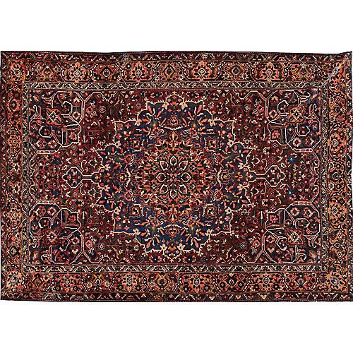 """Persian Bakhtiari Rug, 10'5"""" x 14'9"""""""