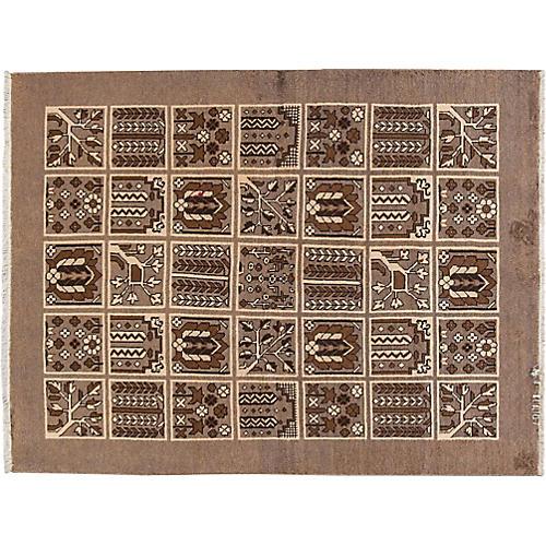 Vintage Persian Shiraz, 4'8 x 6'5'