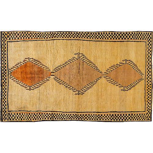"Vintage Persian Shiraz, 4'6 x 7'8"""