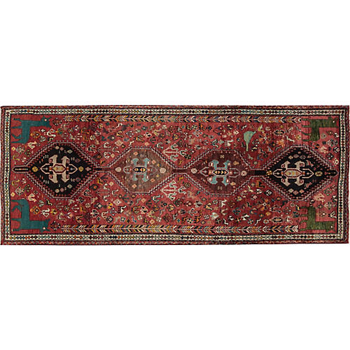 "Vintage Persian Shiraz, 3'3"" x 8'4"""