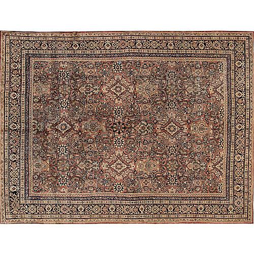 "Vintage Persian Mahal, 10'5"" x 14'"