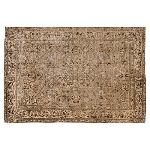 "Vintage Persian Tabriz, 6'6"" x 9'8"""