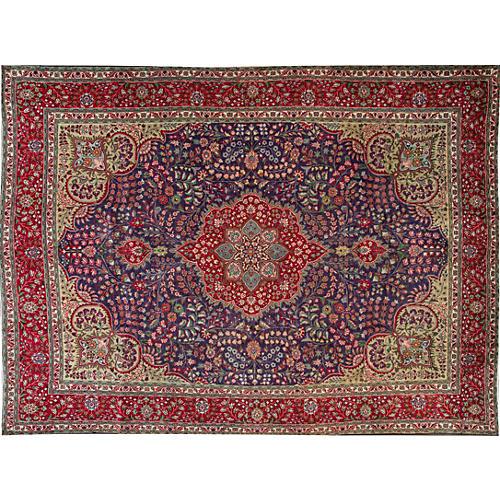 """Persian Tabriz, 9'7"""" x 13'4"""""""