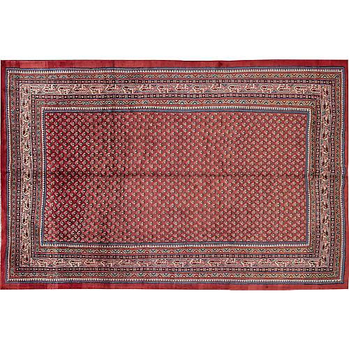 "Vintage Persian Hamadan, 6'10"" x 10'4"""