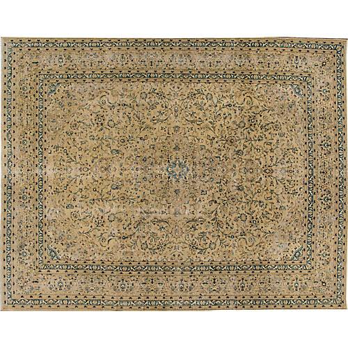 "Vintage Persian Tabriz, 9'10"" x 12'6"""