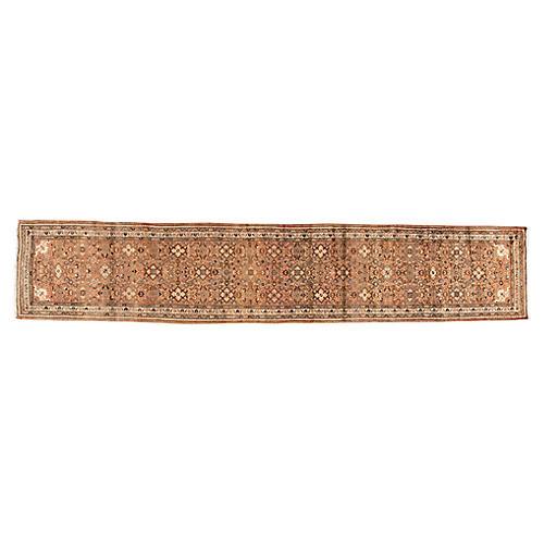"Vintage Persian Hamada, 2'10"" x 14'8"""