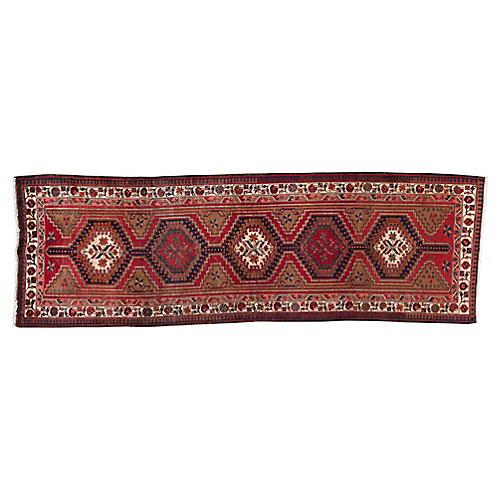 "Vintage Persian Serab, 3'6"" x 10'9"""