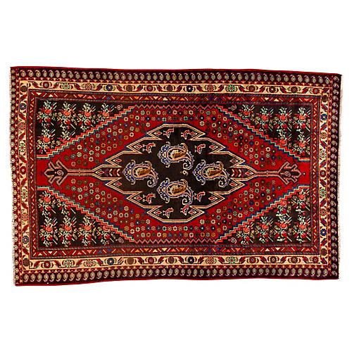 "Vintage Persian Hamadan, 4'7"" x 7'3"""