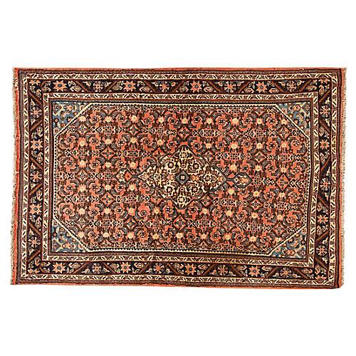 "Vintage Persian Hamadan, 3'8"" x 5'4"""
