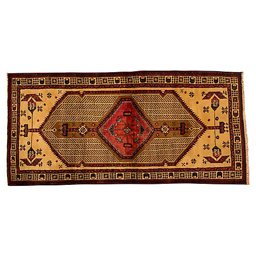 "Vintage Persian Sarab, 3'2"" x 6'8"""