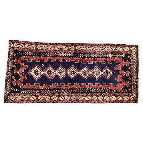 "Vintage Persian Hamadan, 3'3"" x 7'2"""