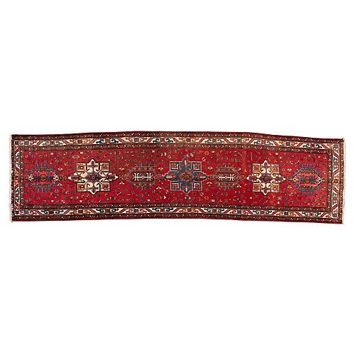 "Vintage Persian Rug, 3'3"" x 12'8"""
