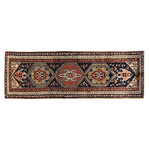 "Persian Serab Runner, 3'7"" x 10'6"""