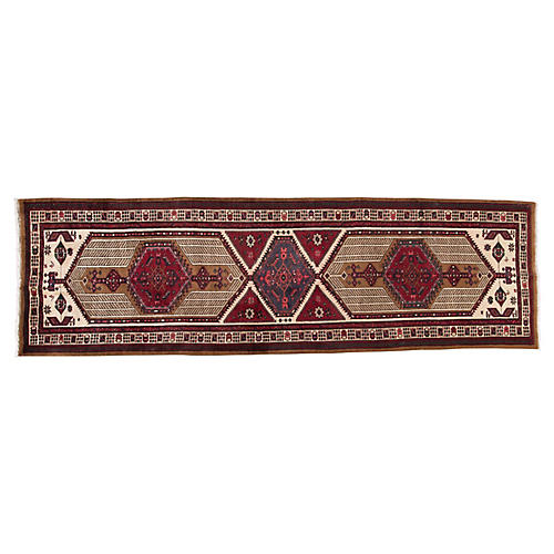 "Persian Serab Runner, 3'6"" x 11'9"""