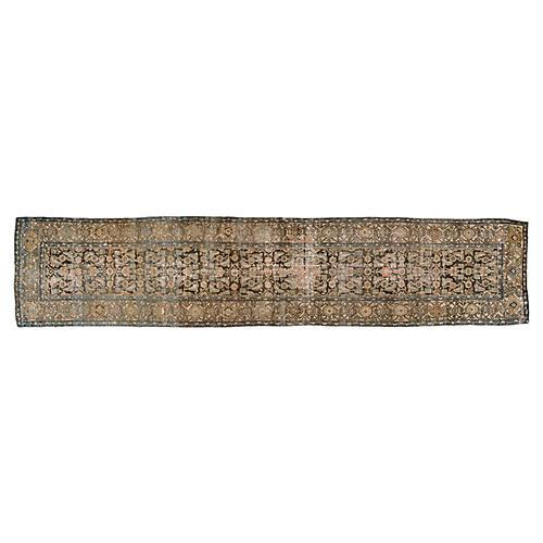 """Persian Rug, 3'4"""" x 16'"""