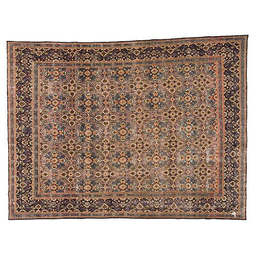 """Persian Tabriz, 9'5"""" x 12'9"""""""