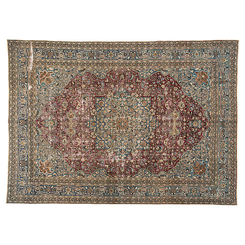 "Persian Mashad Carpet, 10'7"" x 14'10"""