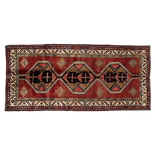 "Persian Serab Rug, 4'6"" x 9'8"""