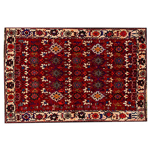 "Persian Shiraz Rug, 5'7"" x 8'4"""