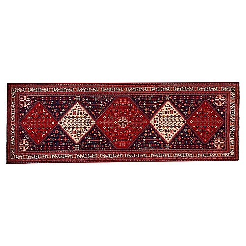 "Persian Shiraz Runner, 3'4"" x 9'10"""