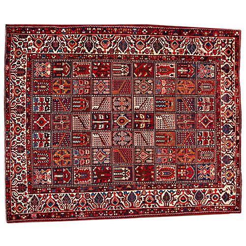 """Persian Bakhtiari Rug, 10' x 12'5"""""""
