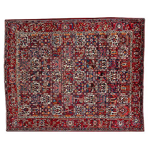 """Bakhtiari Carpet, 10' x 12'6"""""""