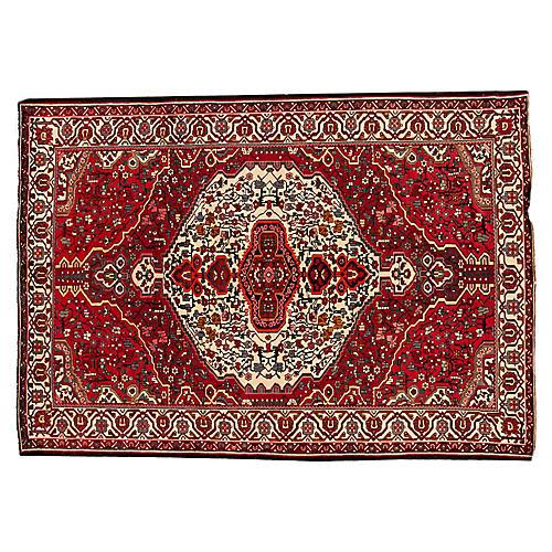 """Persian Bakhtiari Rug, 7' x 9'10"""""""